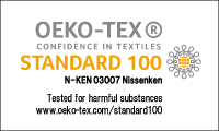 "Our snaps are safe and high-quality, certified ""Oeko-Tex Standard 100"". - KAJI TECH CORPORATION"
