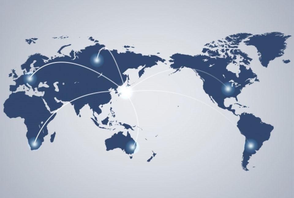 グローバル体制 |「副資材、パーツ販売の老舗- 株式会社カジテック